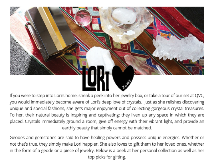 LORI LOVES CRYSTALS1